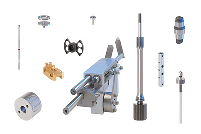 Components for mechanical engineering and special machine building applications