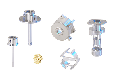 Components for metrology equipment technology